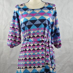 Needle & Thread Anthropologie Dress Shift Size M